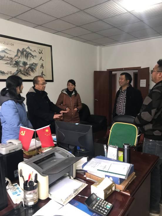 拉萨市达孜区民政局到市福利院考察学习标准化建设