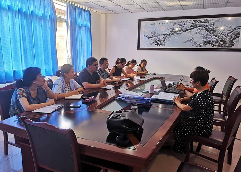 市福利院通过2019年质量管理体系审核